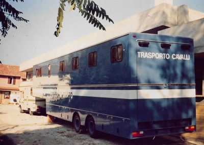 Rimorchio trasporto Cavalli