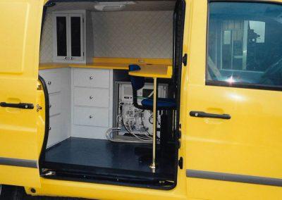 Ufficio mobile Mercedes Vito